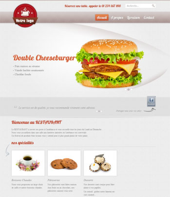 dite web dynamique fast food restauration gastronpomie